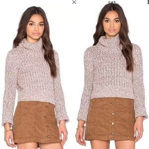 NEW Free People Twisted Cable Sweater M